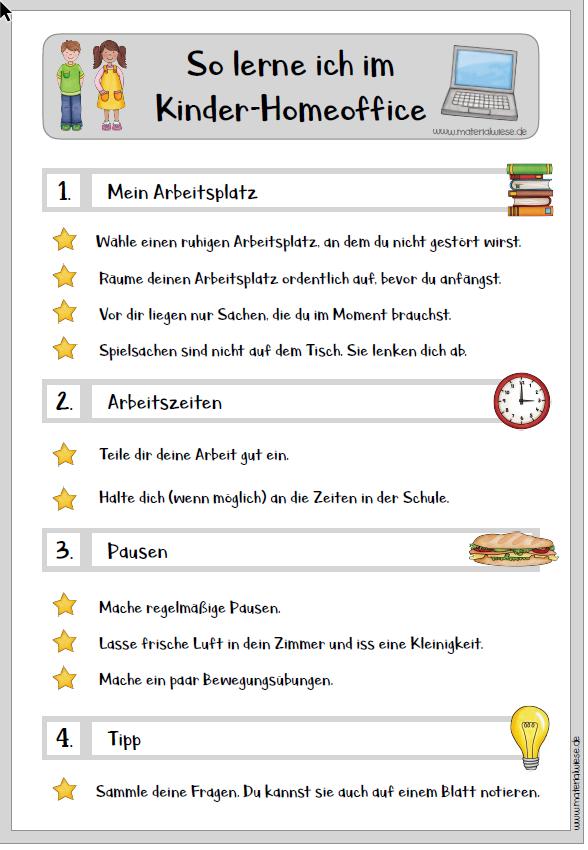 Homeoffice Maximilianschule Werries Uentrop